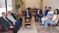 BASIN MENSUPLARI - Vali Tutulmaz'dan Basın Meslek Örgütlerine Ziyaret