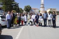 SAĞLIĞI MERKEZİ - Yunak'ta Obeziteye Karşı Sağlıklı Yaşam Yürüyüşü Düzenlendi