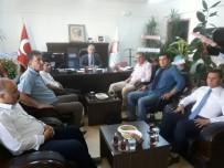 İBRAHİM ASLAN - AGAD'tan Müdür Çelik'e 'Hayırlı Olsun' Ziyareti