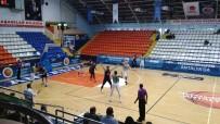 AKHİSAR BELEDİYESPOR - Akhisar Belediyespor Açıklaması 70 - Karesispor Açıklaması 53