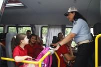 EMNIYET KEMERI - Antalya'da Okul Servislerine Denetim