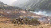 İLK MÜDAHALE - Artvin'de Korkutan Yangın