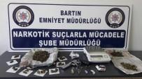 BARTIN EMNİYET MÜDÜRLÜĞÜ - Bartın'da Uyuşturucu Operasyonu Açıklaması 2 Gözaltı