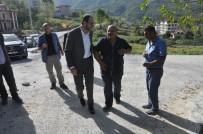 KıLıÇARSLAN - Başkan Ayaz, Belediye Ekiplerinin Çalışmalarını İnceledi