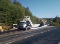 Büyükşehir Milas'ta Yol Çalışmalarını Sürdürüyor