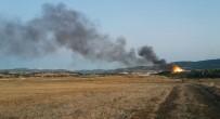 CEZAEVİ MÜDÜRÜ - Çanakkale'de Cezaevinde Yangın