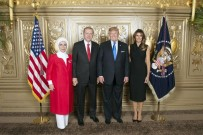 DONALD TRUMP - Cumhurbaşkanı Erdoğan Ve Eşi, Trump Çiftinin Resepsiyonunda