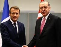 NEW YORK - Cumhurbaşkanlığı hesabından Macron'a ince mesaj