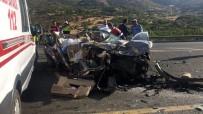 JANDARMA - Elazığ'da Feci Kaza Açıklaması 3 Ölü, 1 Yaralı