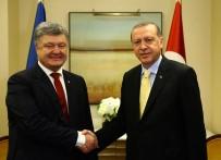 NEW YORK - Erdoğan, Ukrayna Devlet Başkanı Poroşenko İle Görüştü