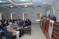 ÖZDEMİR ÇAKACAK - 'İdare Şube Başkanları Toplantısı' Vali Çakacak Başkanlığında Yapıldı