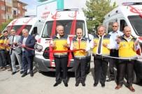 FAHRI MERAL - Karaman'a Gönderilen Üç Yeni Ambulans, Göreve Başladı