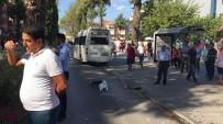 Milas'ta Öğrenci Servisi İle Otomobil Çarpıştı Açıklaması 1 Yaralı