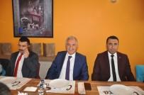 SELAHATTIN BEYRIBEY - Milletvekili Beyribey Ve İl Başkanı Çalkın Basınla Buluştu