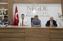 ŞEHİR İÇİ - Niğde Belediyesi Kamyon Garajını Açılışa Hazırlıyor
