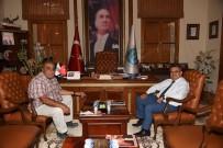 MEHMET ARSLAN - OSB Yönetim Kurulu Başkanı Arslan, Başkan Yağcı'yı Ziyaret Etti