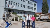 EĞİTİM MERKEZİ - Pazaryeri'nde Halk Eğitim Merkezi Çevre Düzenleme Çalışmaları Başladı