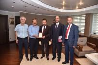 DERNEK BAŞKANI - Rahmet Cami Yönetiminden Başkan Doğan'a Ziyaret
