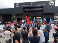 MARMARA ÜNIVERSITESI - Üniversitelilerden Kuzek Irak'taki Referanduma Tepki