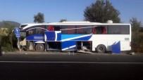 Uşak'ta Otobüs Yoldan Çıktı Açıklaması 3 Yaralı