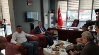 HEKIMOĞLU - Vali Yavuz'dan Hekimoğlu'na Taziye Ziyareti
