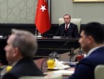 CUMHURBAŞKANLIĞI KÜLLİYESİ - Ankara'da kritik MGK başladı