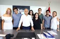 KARABAĞ - Başkan Karabağ, Üniversitelileri Ağırladı