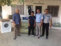 GEÇMİŞ OLSUN - Büyükşehir İki Aileye Daha Yardım Elini Uzattı