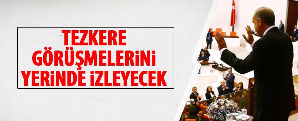 Cumhurbaşkanı Erdoğan yarın TBMM'de