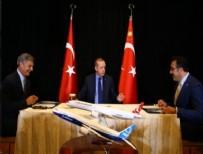 CUMHURBAŞKANı - Cumhurbaşkanı, THY-Boeing imza törenine katıldı
