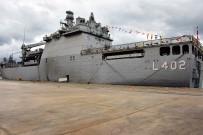 HASAN ÖZTÜRK - Dünyanın En Büyük Tank Çıkarma Gemisi 'Tcg Bayraktar' Samsun'a Çıkarma Yaptı