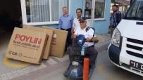 İSMAIL ÇELIK - Duyarlı Vatandaşlar 3 Engelliye Işık Oldu