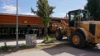 KAPALI ALAN - Edirne'de Ruhsatsız Kafe Yıkıldı