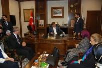 EYÜP EROĞLU - Eski Başbakan Davutoğlu'nun Tokat Temasları
