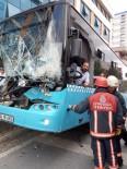 KÜÇÜKKÖY - İstanbul'da Feci Kaza