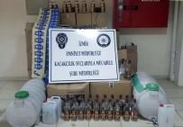 İÇKİ ŞİŞESİ - İzmir'de Sahte İçki İmalathanesine Baskın