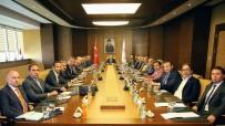 GALATASARAY BAŞKANı - Kulüpler Birliği Vakfı'ndan Bakanlar Ağbal Ve Bak'a Ziyaret