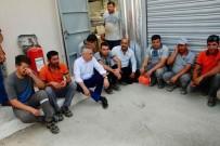 MUHAMMET DEMİR - Mustafa Savaş Maden İşçileriyle Bir Araya Geldi