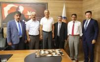 KEMERHISAR - Niğde Belediye Başkanları Neşet Tarhan'ı Ziyaret Etti