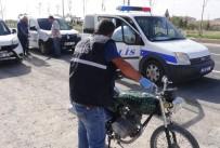 OLAY YERİ İNCELEME - Şanlıurfa'dan Çalınan Motosiklet 6 Yıl Sonra Aksaray'da Bulundu