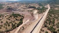 DAVUTLAR - Sarma Göleti Hızla İlerliyor