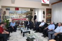 ŞEHİT AİLELERİ - Tahmazoğlu, Gazileri Ziyaret Etti