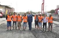 KANALİZASYON - Tekkeköy'den Sanayiye Beton Yol