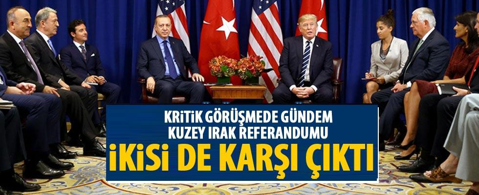 Trump ve Erdoğan'dan referandum kararı: Karşıyız