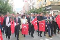 GÜRBÜZ KARAKUŞ - Zeytin Festivalinde Renkli Yürüyüş