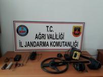 İL JANDARMA KOMUTANLIĞI - Ağrı'da Kaçak Kazı Operasyonu