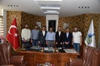 AK Parti Gençlik Kolları Başkan Adayı Aydın, Başkan Üzülmez'i Ziyaret Etti