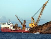 MARMARA DENIZI - Azeri gazının Avrupa yolculuğu Marmara Denizi'nde başladı