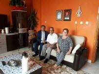 ŞEHIT - Başkan Pamuk, Şehit Ailelerini Ve Gazileri Ziyaret Etti