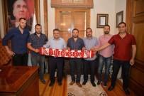 TAKIM OTOBÜSÜ - Bilecikspor'dan Başkan Yağcı'ya Teşekkür
